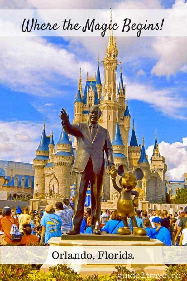 Walt Disney World in Florida.