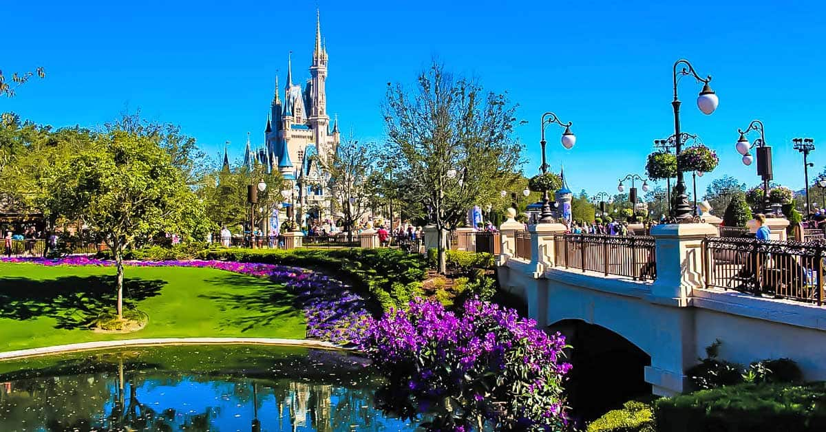Walt Disney World outside Orlando, Florida