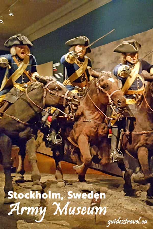 Cavalry in the Army Museum in Stockholm.