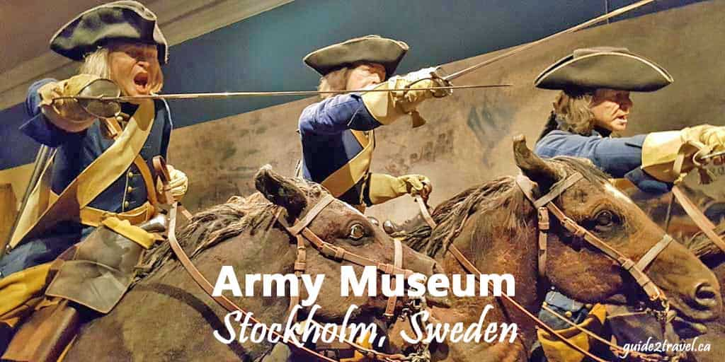 Discover Sweden's Military History at the Army Museum in Stockholm