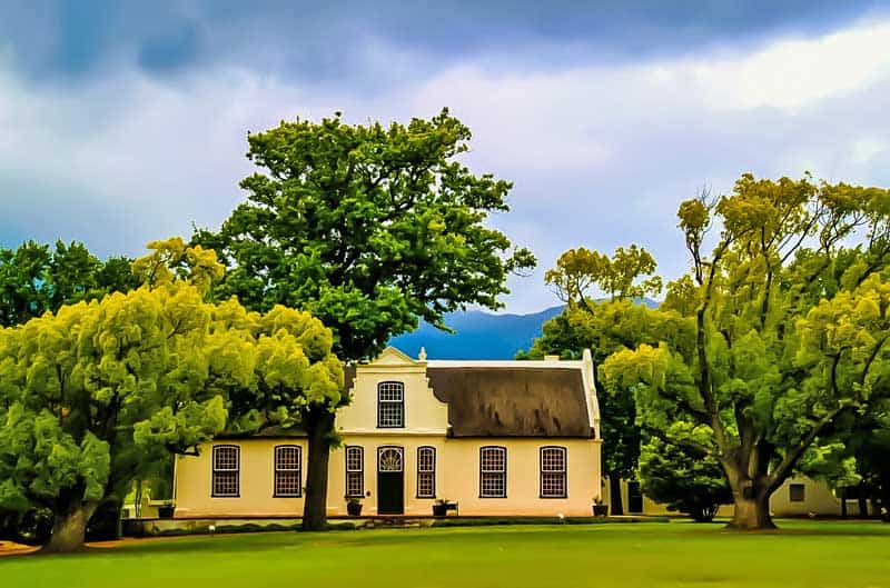 Boschendal Manor & Winery between Stellenbosch & Franschhoek.