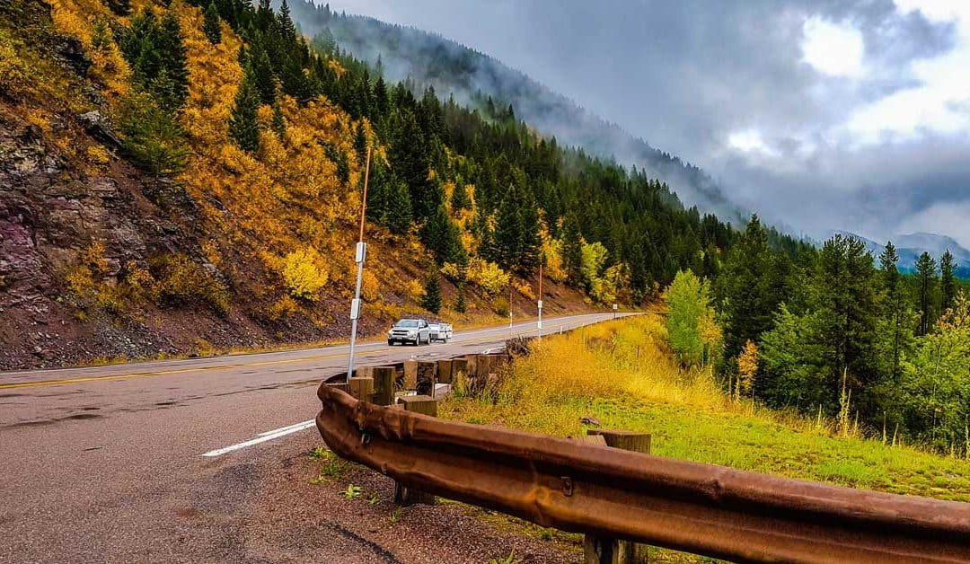Fall Leaves Road Trip Through Glacier National Park – Great Northern Highway