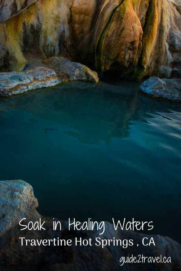 Travertine Hot Springs, California