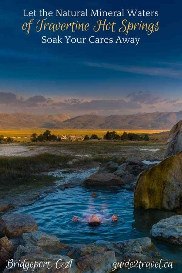 Travertine Hot Springs in California.