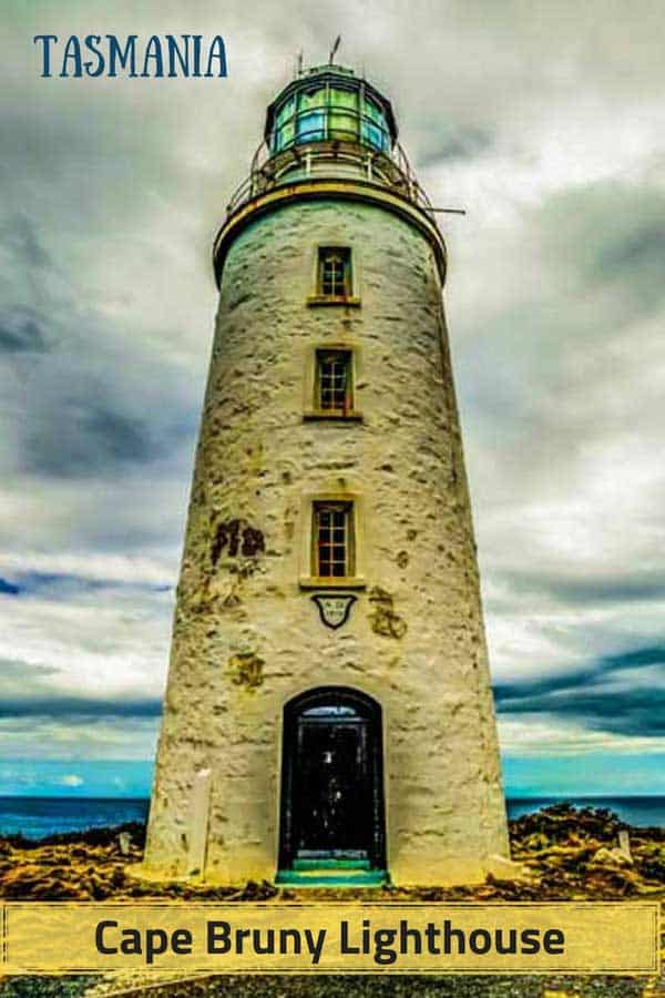 Cape Bruny Lighthouse in Tasmania, Australia