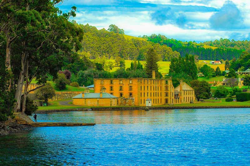Hobart Prison, Port Arthur, Tasmania, Australia.