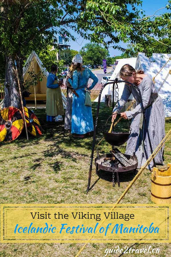 Visit the Viking Village at the Icelandic Festival of Manitoba