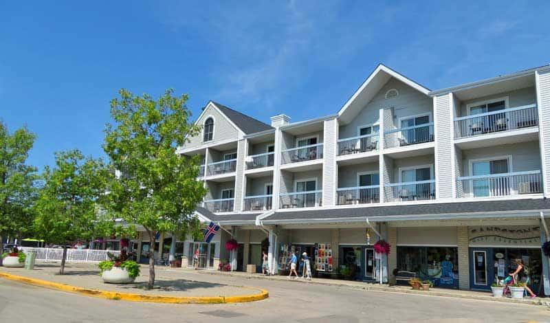Lakeview Resort, Gimli, Manitoba.