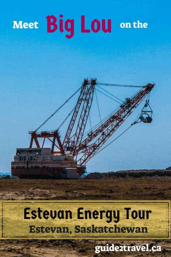 See big mining machines on the free Estevan Energy Tour.