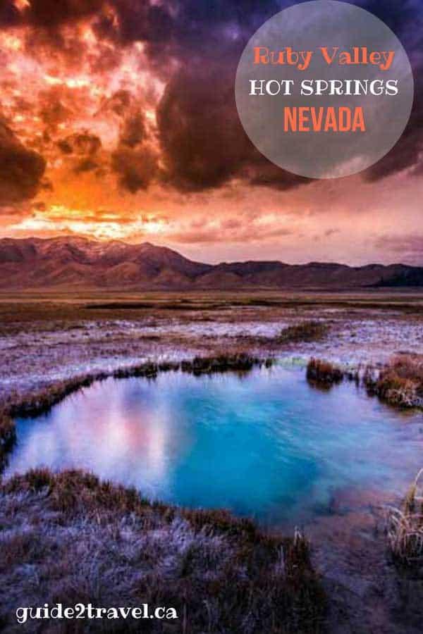 Ruby Valley Hot Springs, Nevada