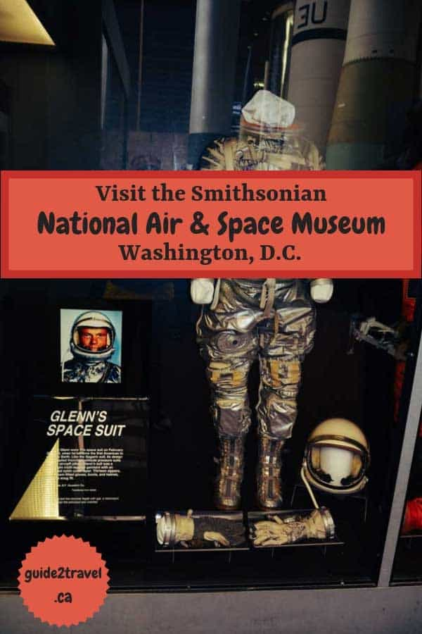Smithsonian Air & Space Museum in Washington, D.C. Photo by Linda Aksomitis at guide2travel.ca