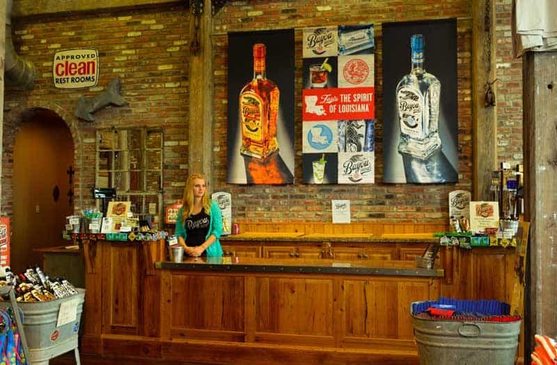 Bayou Rum Distillery outside Lake Charles, Louisiana.