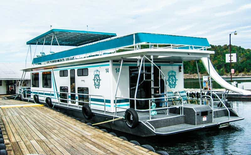Houseboat on Lake Cumberland.
