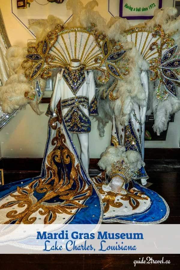 Mardi Gras Museum of Imperial Calcasieu costumes in Lake Charles, Louisiana