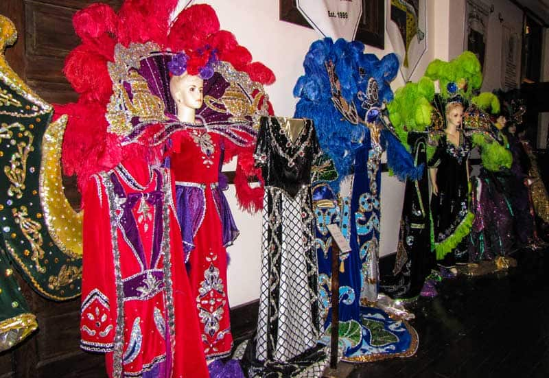 Costume in the Mardi Gras Museums of Imperial Calcasieu.