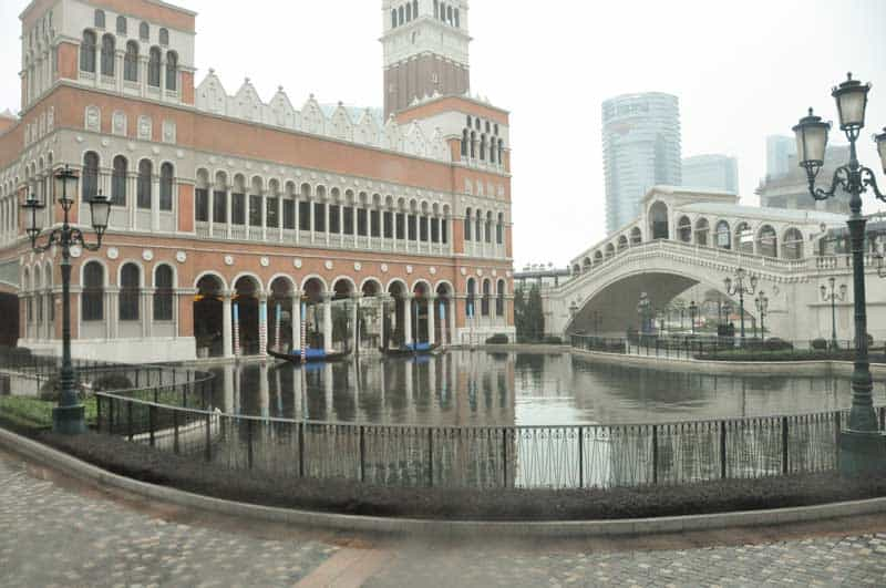 The Venetian Casino in Macau.