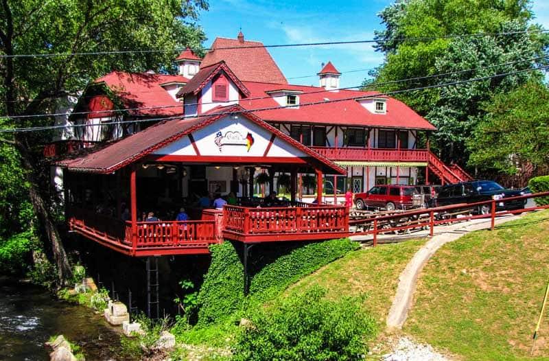 Café International in Helen, Georgia.