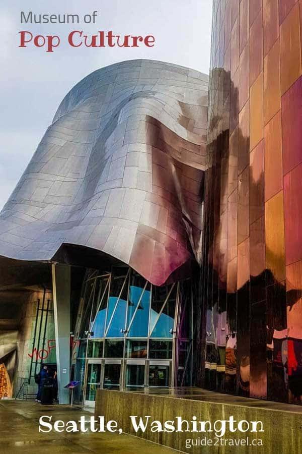 MoPOP museum of modern culture in Seattle, Washington