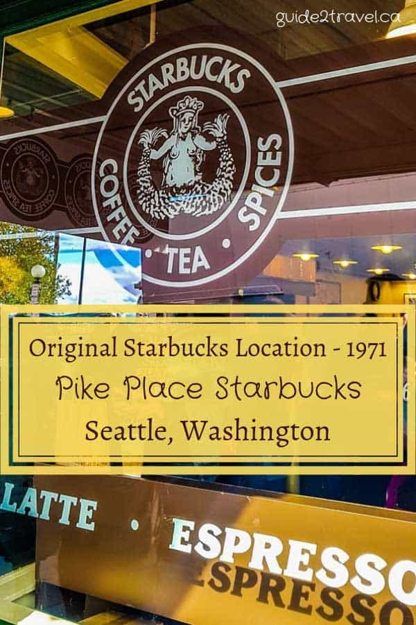 Original Starbucks store in Seattle, Washington