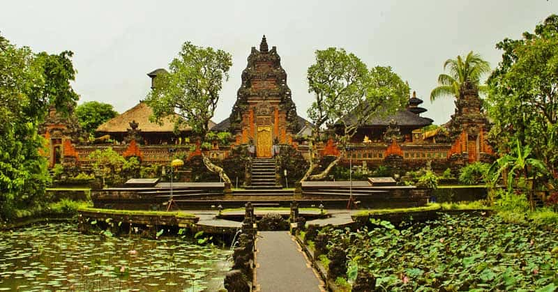 Temple on Bali. Photo from Pixabay used with a CC0 license.