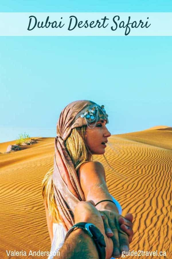 Discover all that's possible in Dubai - take a desert safari.