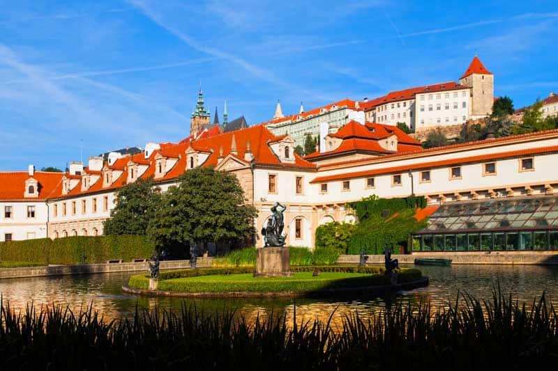 Wallenstein Garden under Prague Castle in Prague.