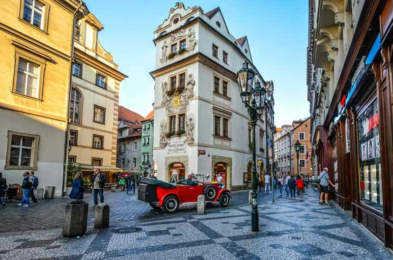 Find lots of historic spots to sit back and enjoy a beer in Prague.