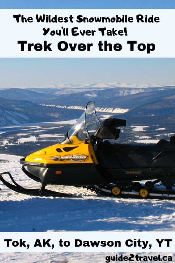 The wildest snowmobile ride you'll ever take!