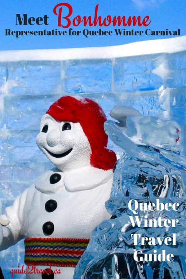 Meet Bonhomme, the ambassador for the Quebec Carnival.