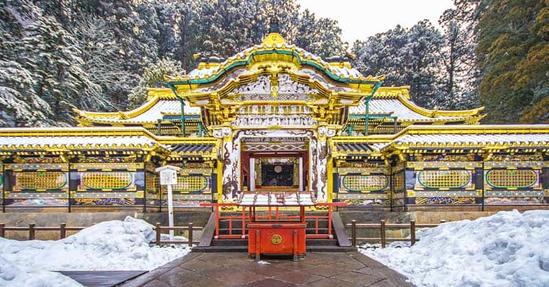 Tosho-gu Shinto Shrine at Nikko, UNESCO World Heritage site.