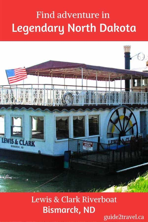 Experience legendary North Dakota on the Lewis & Clark Riverboat tour in Bismarck, ND.