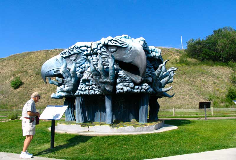 Thunderbirds statue