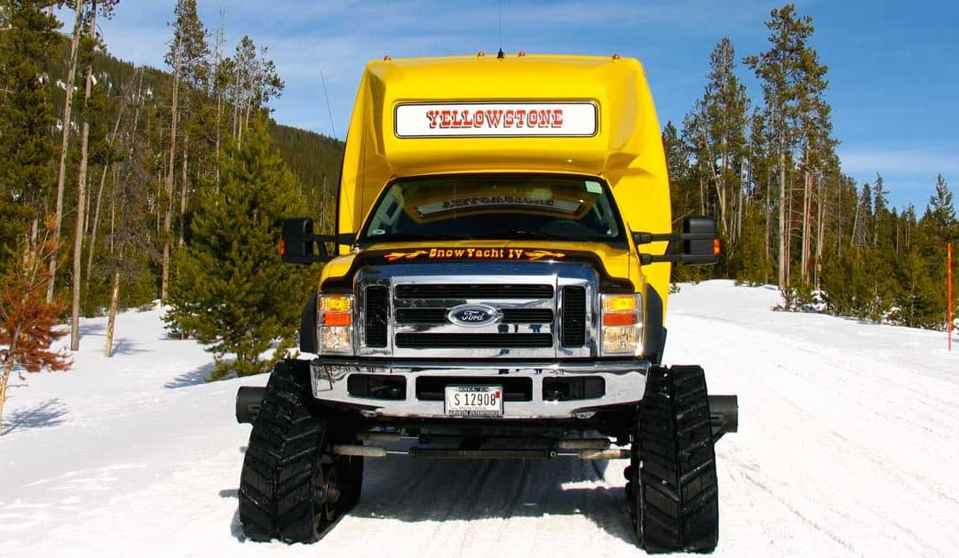 How to See Old Faithful When Winter Roads are Closed