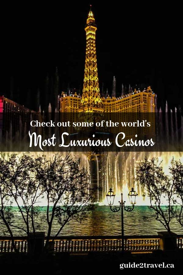 Check out some of the world's most luxurious casinos!