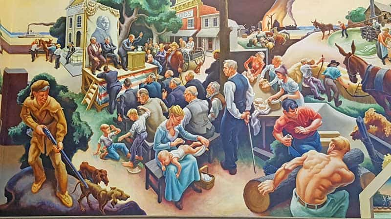 Thomas Hart Benton Murals in the Missouri Capitol