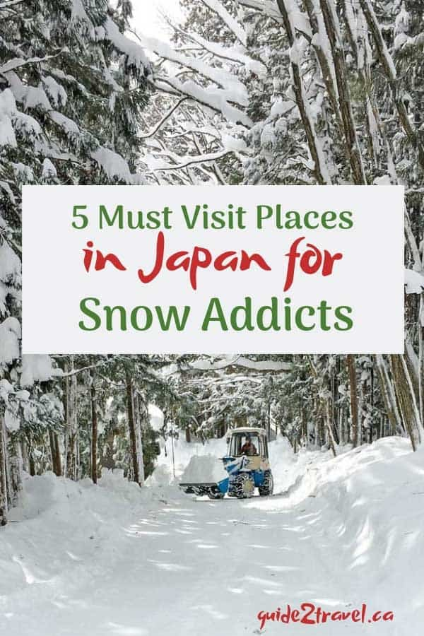 5 Must Visit Places in Japan for Snow Addicts!