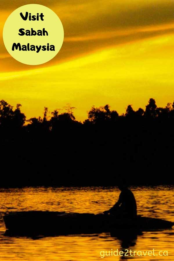 Visit Sabah, Malaysia, and experience the rainforest jungles and wildlife.