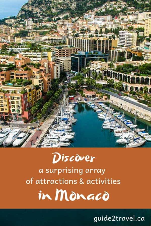 Discover a surprising array of attractions & activities in Monaco.