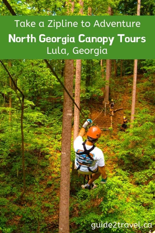 Take a zipline to adventure - North Georgia Canopy Tours