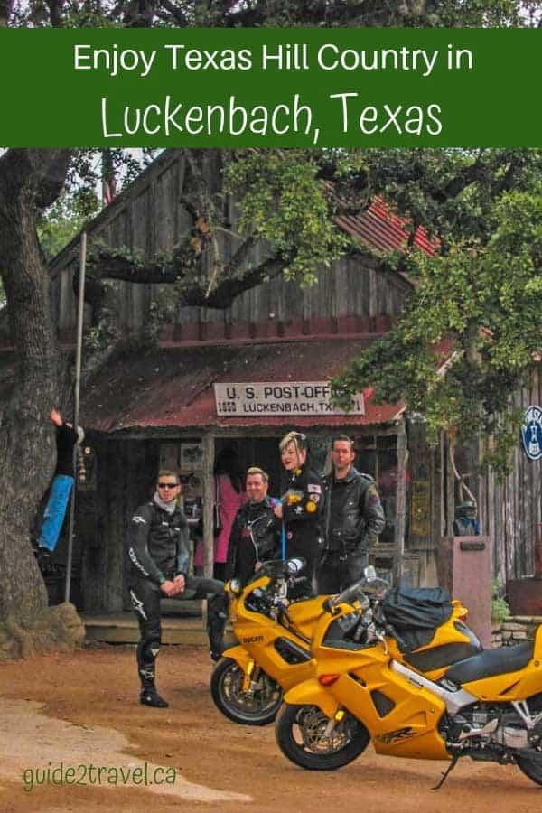 Enjoy Texas Hill Country in Luckenback, Texas
