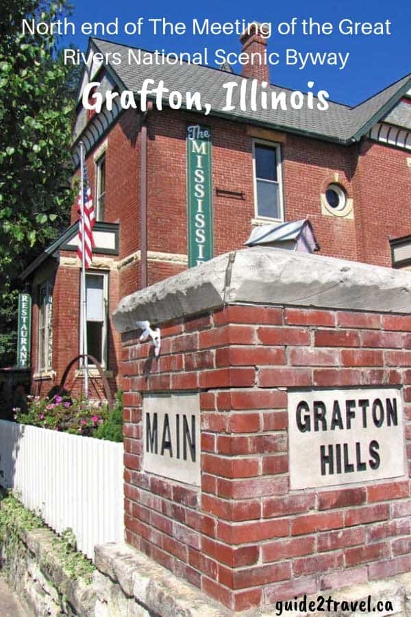 Visit Grafton at the north end of The Meeting of the Great Rivers National Scenic Byway in Illinois.