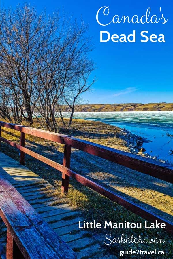 Canada's Dead Sea - Little Manitou Lake in Saskatchewan