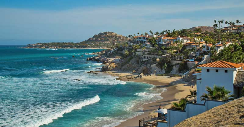 Beach at Cabo San Lucas. Photo by Alvero Bejarano.