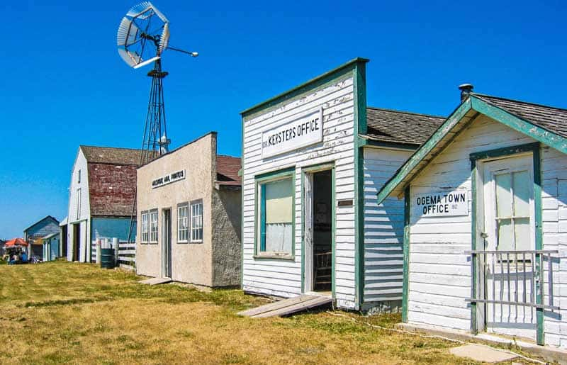 The Deep South Pioneer Museum has original buildings from Ogema and nearby communities all set up as an historic town.