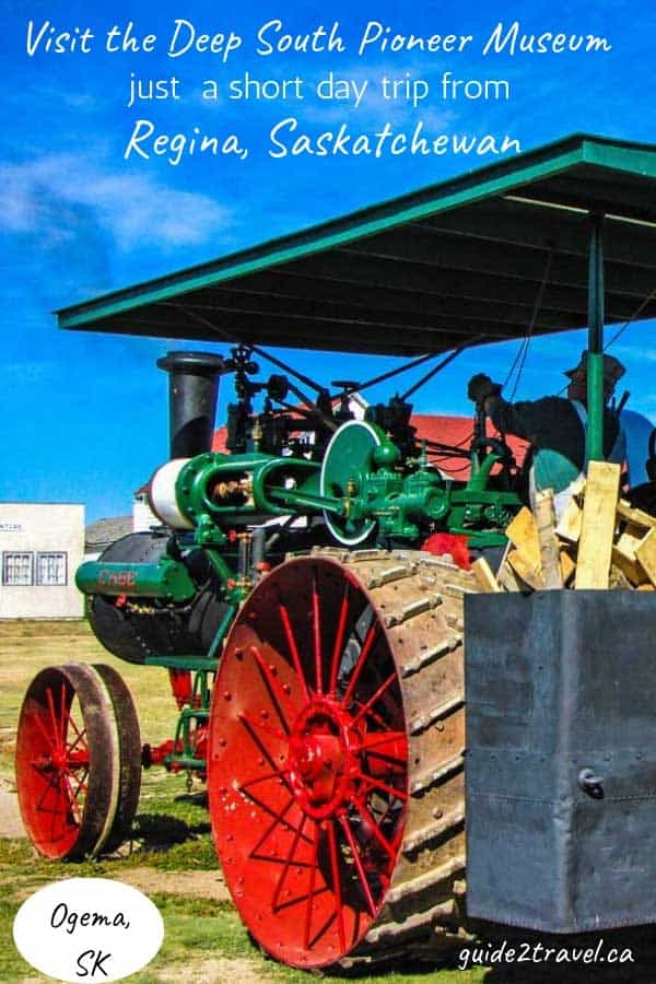 Steam tractor at the Deep South Pioneer Museum