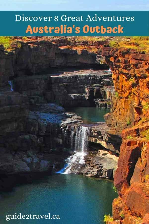 Discover 8 Great Adventures in Australia's Outback like the Mitchell Falls.