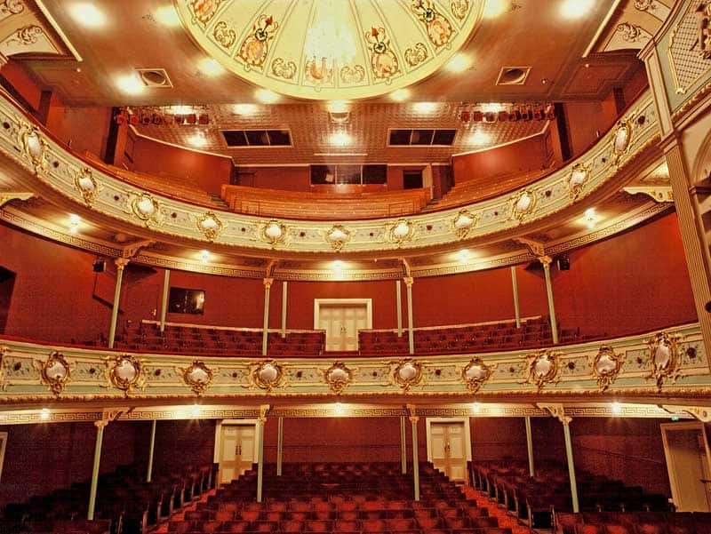 Stage of Theatre Royal.