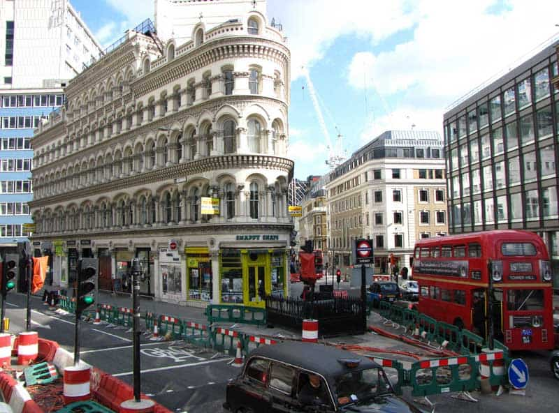 London's busy streets!