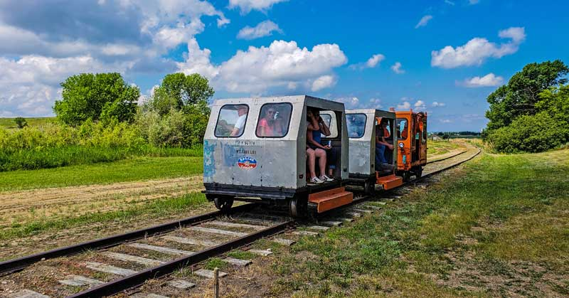 Lil' Jigger railway on the Historic Spur line
