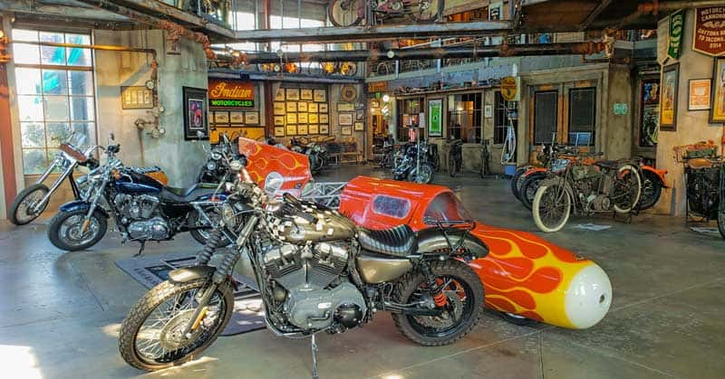 Legends Motorcycles Museum in Springville, Utah.